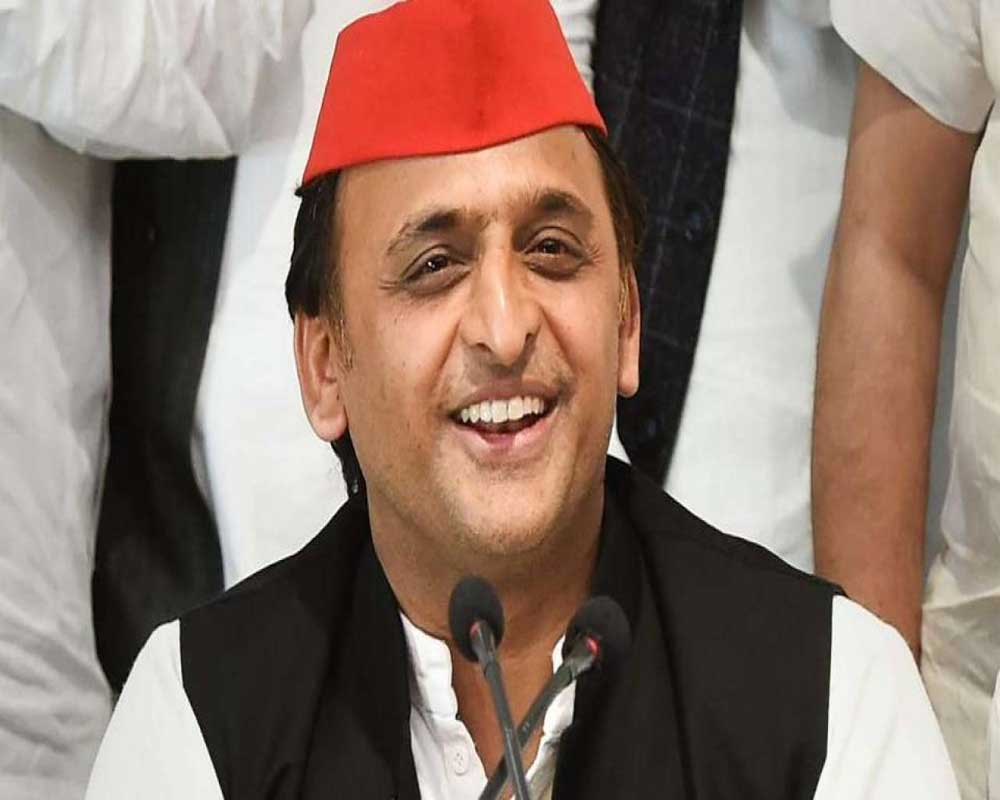 Palm reader told me SP will win 350 seats in 2022 UP elections: Akhilesh Yadav