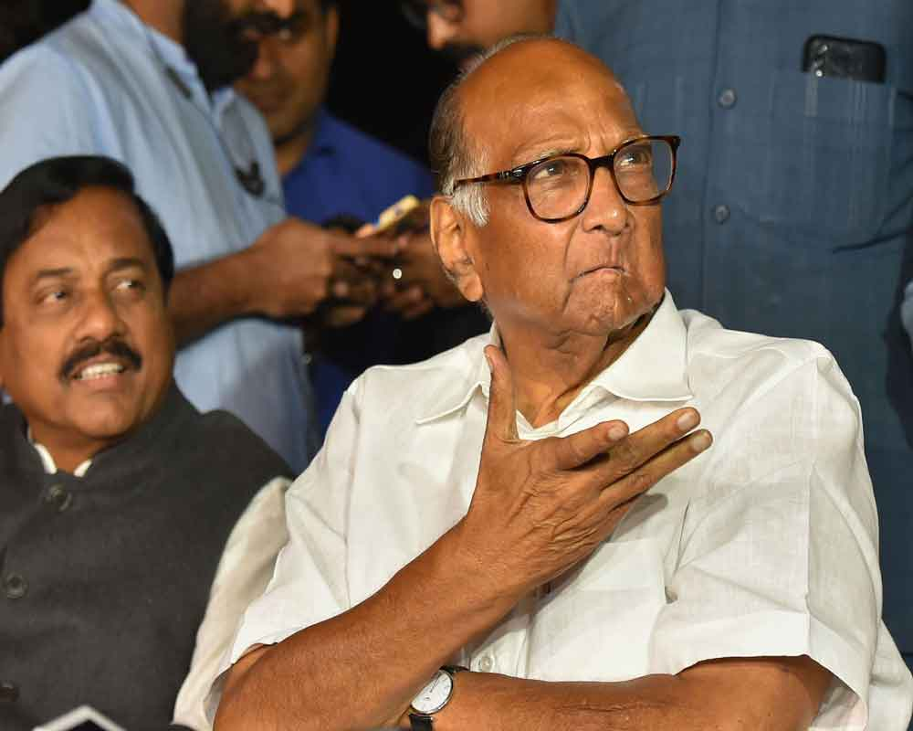 Pawar's security at Delhi home 'withdrawn' by Centre: NCP