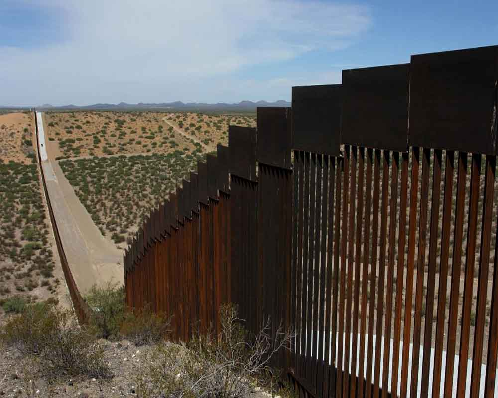 Pentagon shifts USD 3.8 bn to Mexico border wall construction