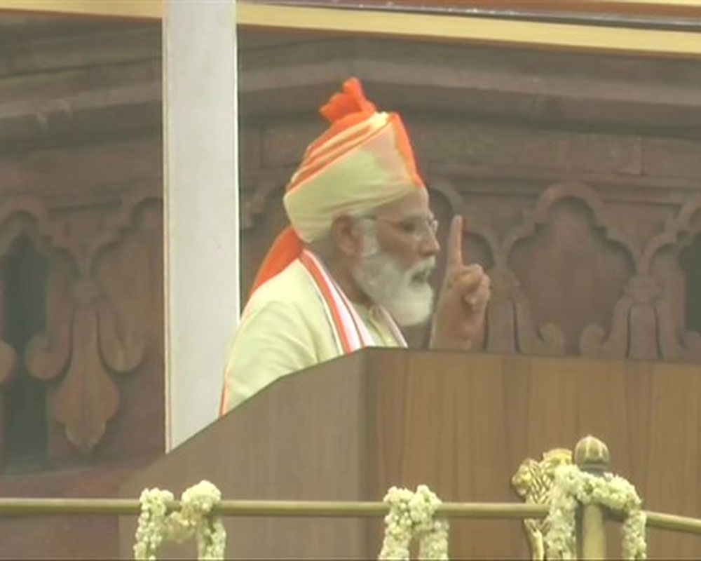 Aatmanirbhar Bharat at centre of Modi's Independence Day speech
