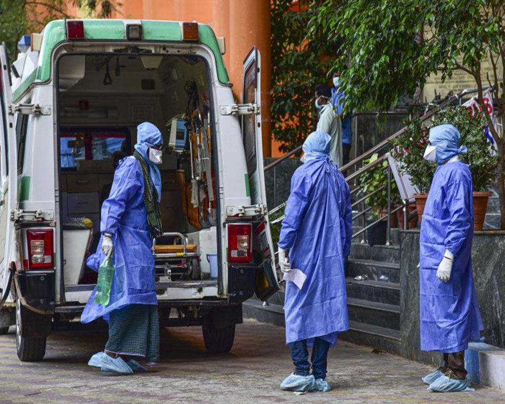 Record 6,767 new COVID-19 cases in India in last 24 hours; death toll climbs to 3,867