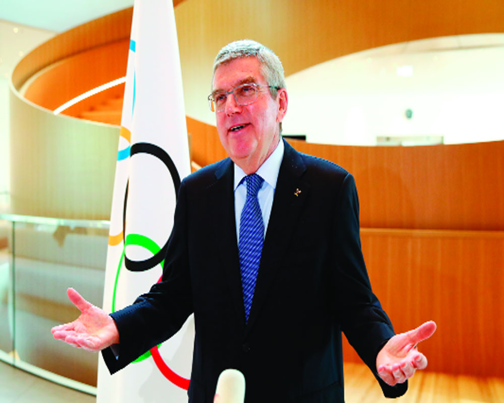 Rescheduled Oly need sacrifices from all stakeholders: Bach