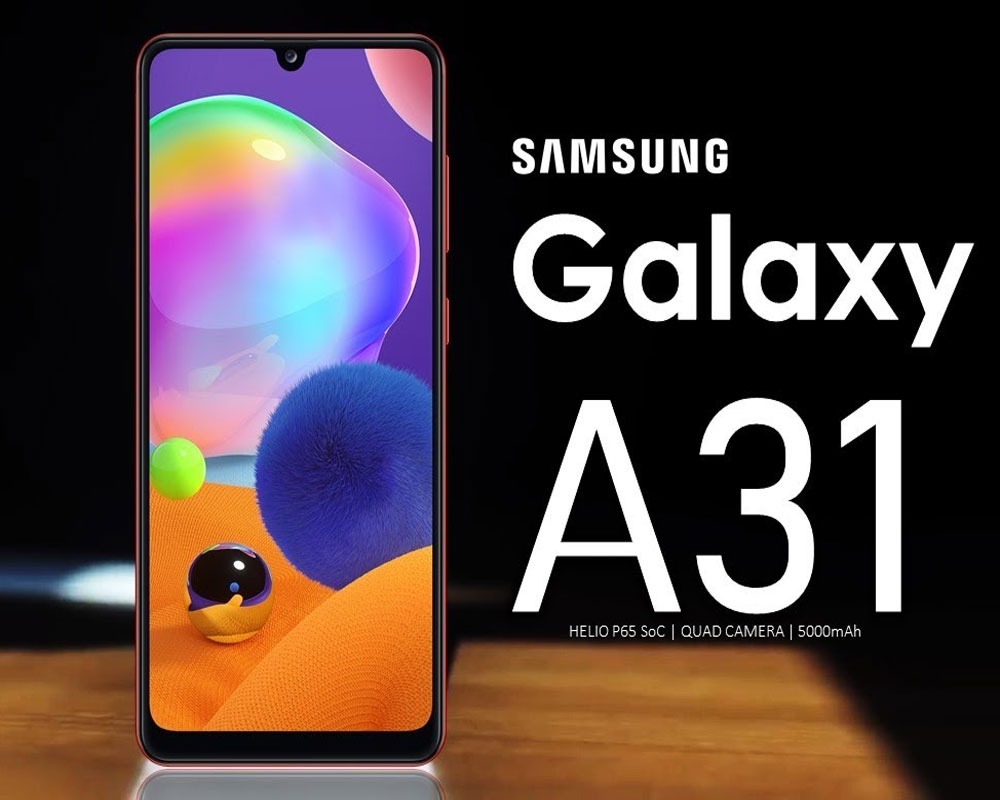 Samsung confirms June 4 launch of Galaxy A31 in India