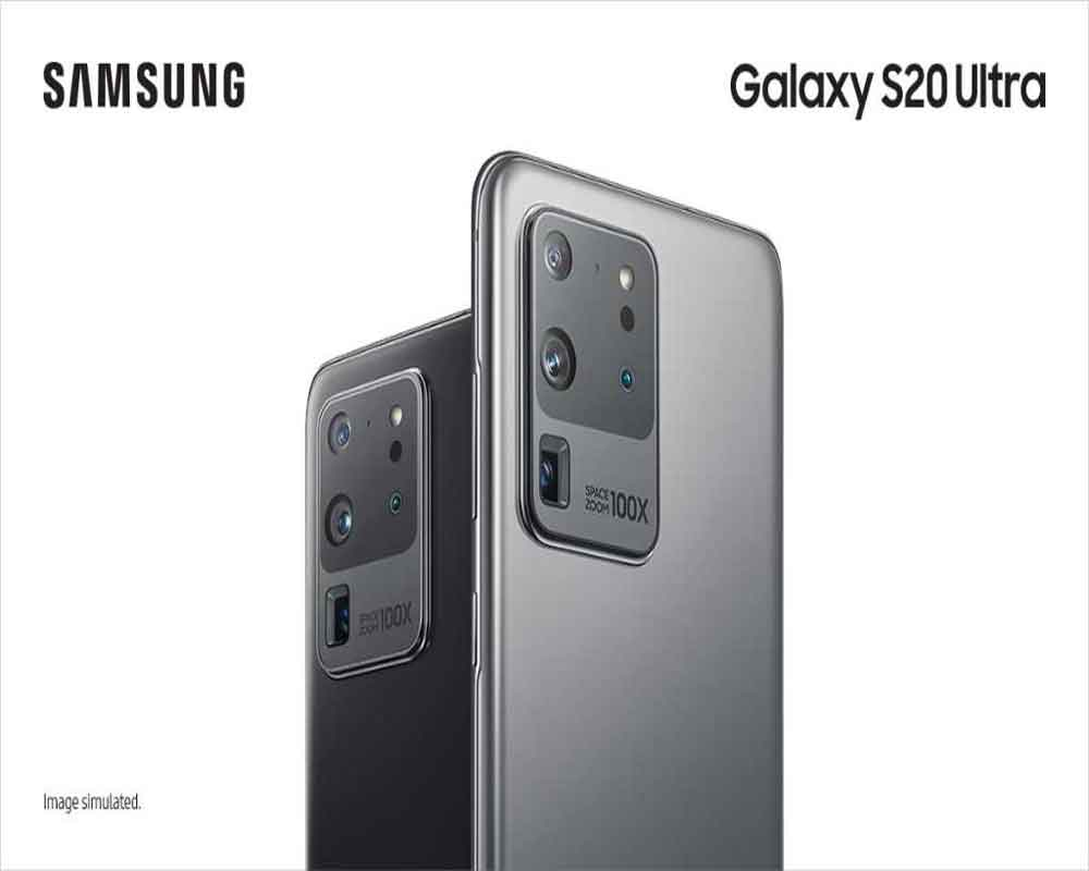 Samsung launches Galaxy S20 flagship smartphones