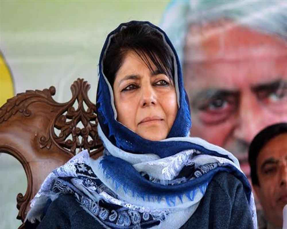 SC issues notice to J-K on plea challenging ex-CM Mehbooba Mufti's detention under PSA