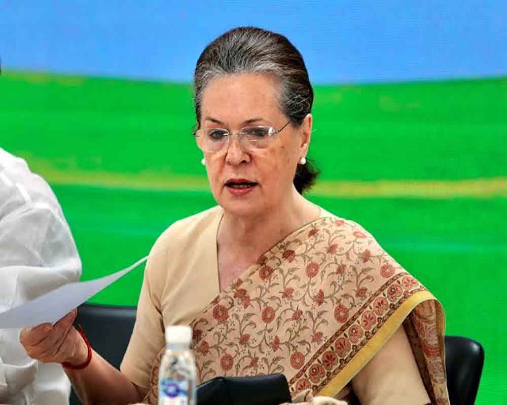 Spirit of federalism forgotten, govt has abandoned any pretence of being democratic: Sonia