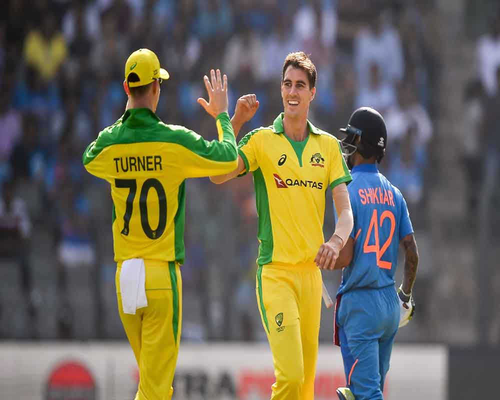Starc takes three wickets as Australia bow out India for 255 in 1st ODI
