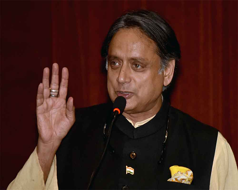 Tharoor apologises for 'power without responsibility' remark on Kejriwal