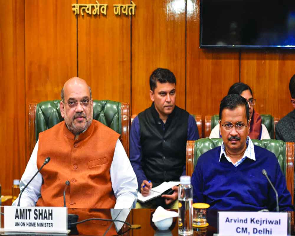 This madness must end, Shah  assured all help, says Kejriwal
