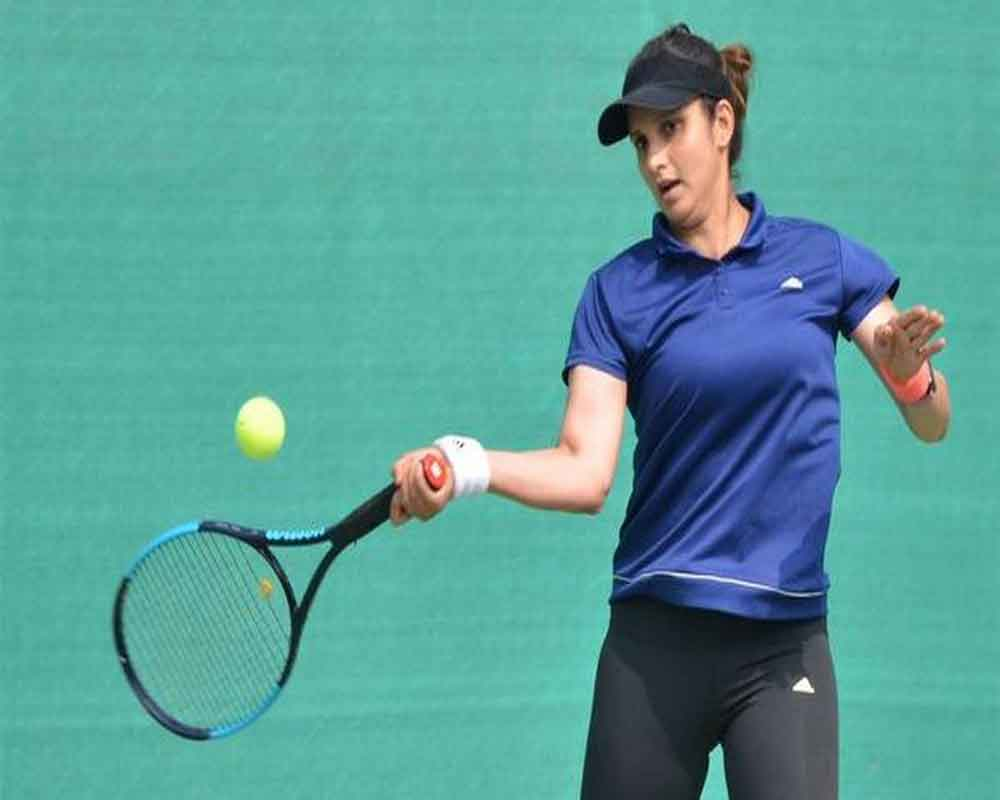 Title for Sania on comeback in Hobart