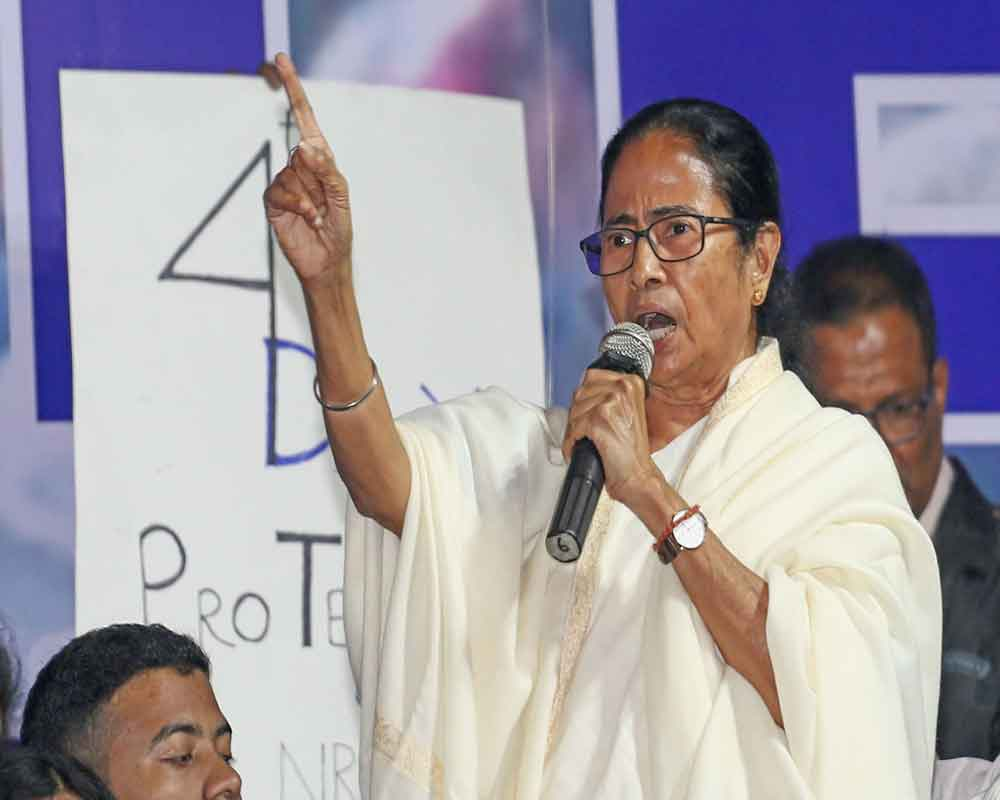TMC first to protest against CAB, none can question its Credentials : Mamata