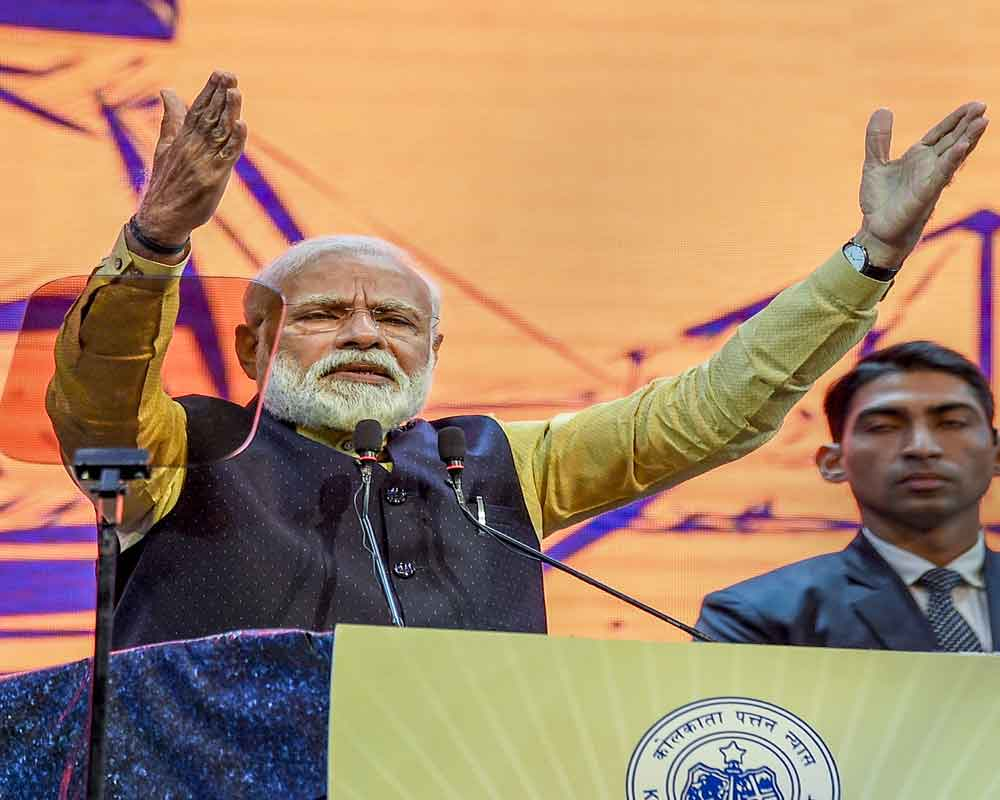 TMC govt not implementing central schemes as there is 'no cut money', says PM as Mamata skips event