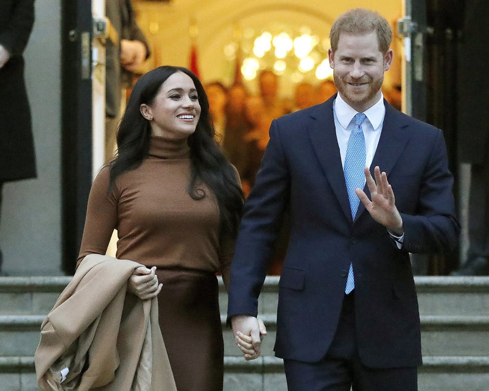 Trump says he's 'not a fan' of Meghan's, wishes Harry luck