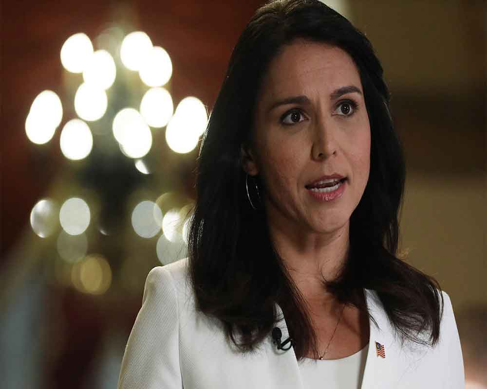 Tulsi Gabbard sues Hillary Clinton for defamation, seeks USD 50 mn over 'Russian asset' comment