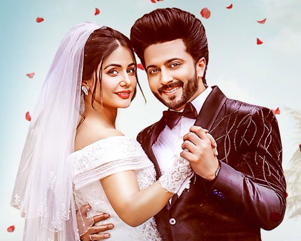 TV stars Hina Khan, Dheeraj Dhoopar in music video on love, resilienceent