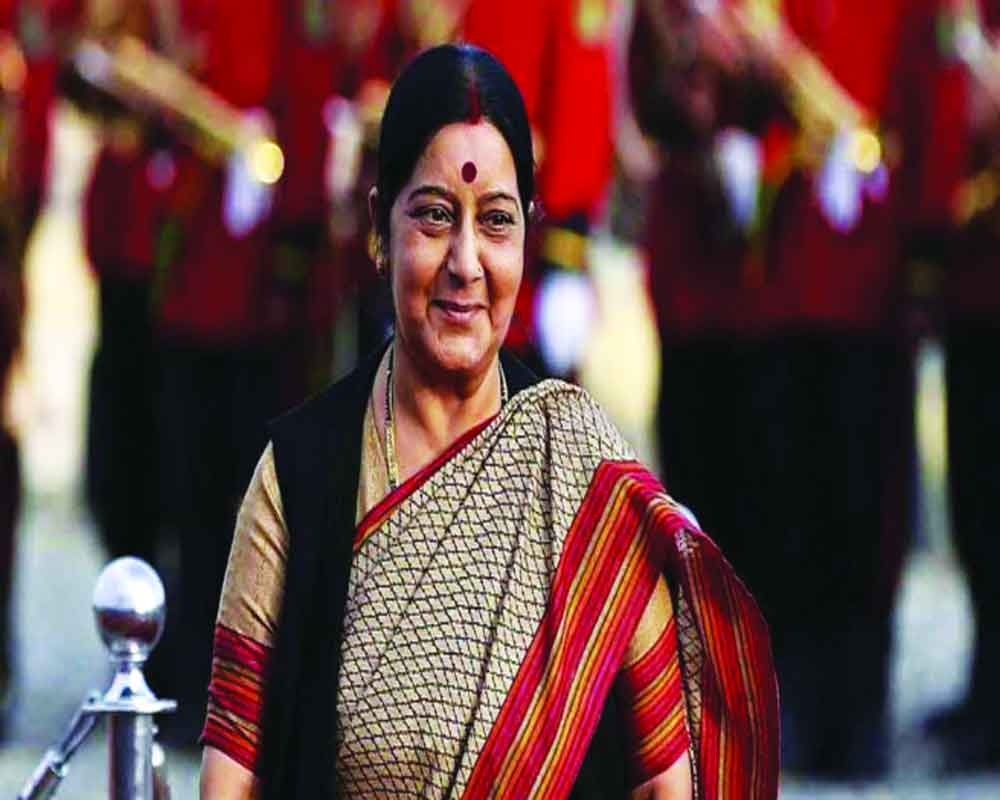 Two institutes renamed after  Sushma Swaraj