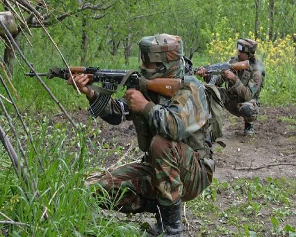 Four militants killed in encounter with security forces in J-K