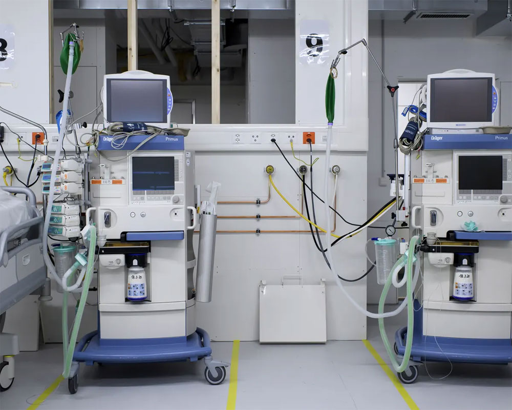 US to ship first batch of 100 ventilators donated to India next week: White House