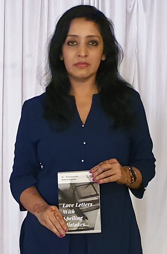 Vaijayanthi Subramanian launches book 'Love Letters with Spelling Mistakes'