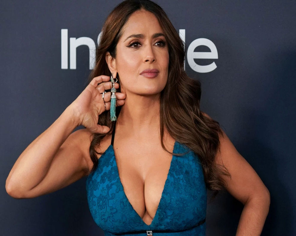 Was told to 'sound dumber' by directors: Salma Hayek