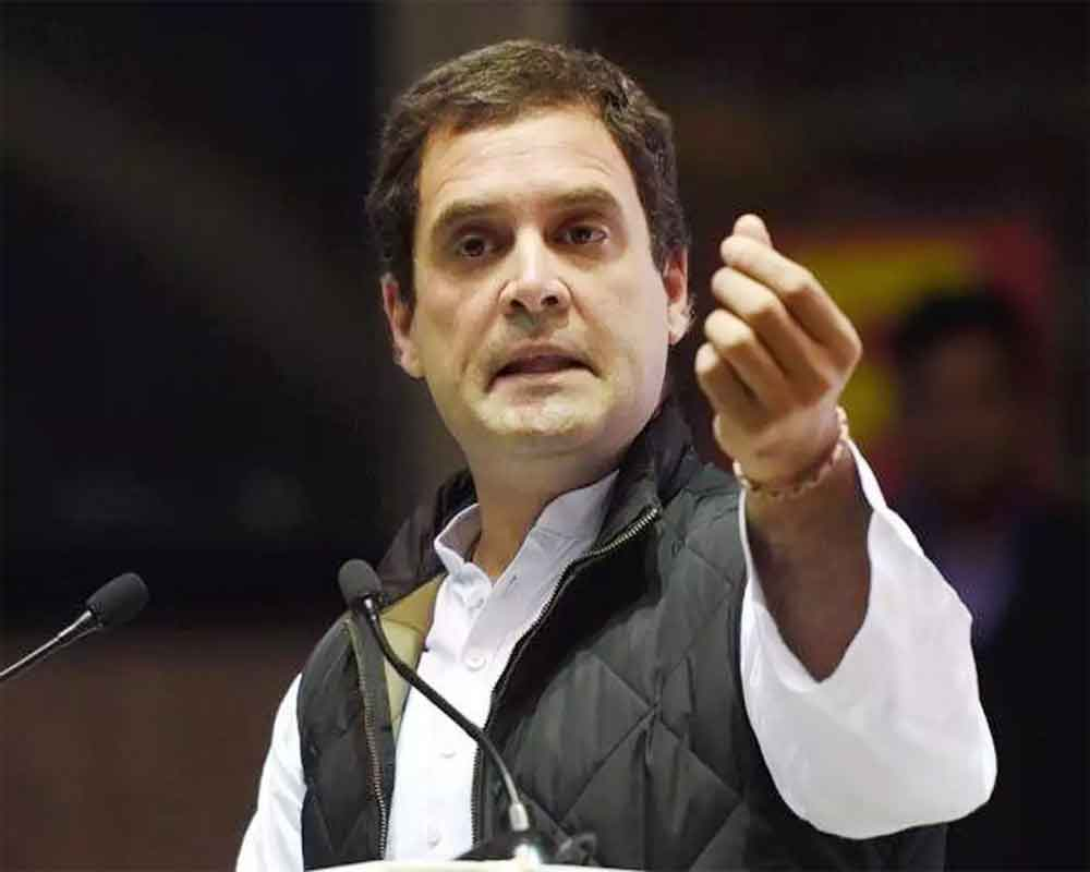 Who benefitted most from Pulwama attack, asks Rahul