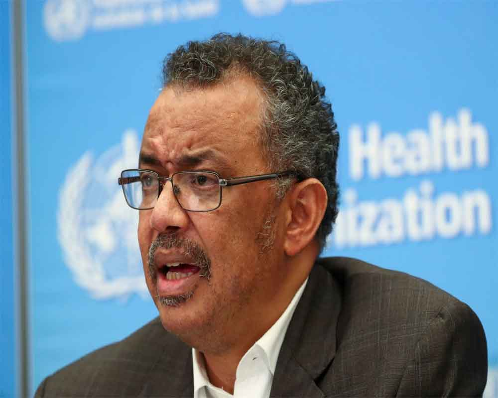WHO chief condoles death of Chinese doctor in fight against coronavirus outbreak
