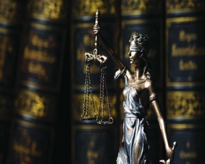 Blindfold of Lady Justice