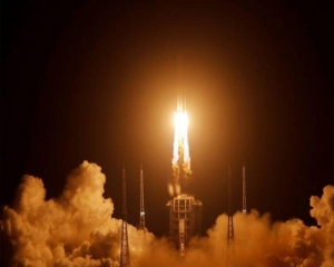 China successfully launches its first spacecraft to moon to collect samples, return to earth