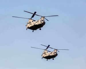 Chinook and Apache helicopters make debut on R-Day flypast