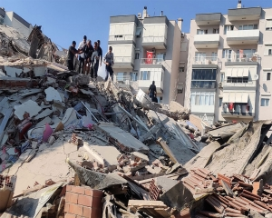Death toll reaches 26 in quake that hit Turkey, Greek island