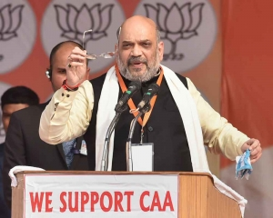 Despite protests, CAA will not be withdrawn: Amit Shah