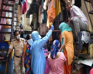 Dharavi reports three new COVID-19 cases