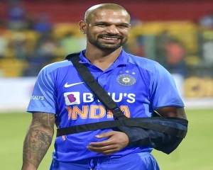 Dhawan ruled out of NZ tour; Samson named replacement for T20s, Prithvi for ODIs