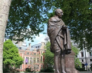 Future of Gandhi's statue in Wales in question after slave trade review