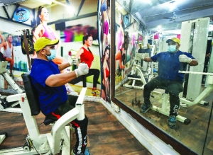 Gym, yoga enthusiasts stretch after 5 months