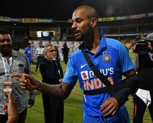 India's Injury woes: Dhawan out of T20s, Ishant ousted from Tests in New Zealand
