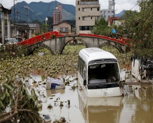 Japan braces for more heavy rain as death toll rises to 66