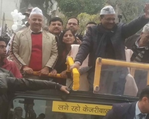 Arvind Kejriwal to file his nomination on Tuesday