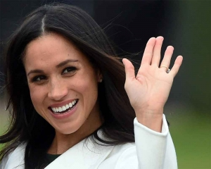 Meghan Markle makes first public appearance since shock announcement