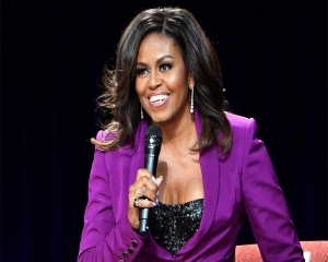 Michelle Obama wins a Grammy