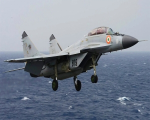 MiG 29K jet crashes into sea; one pilot rescued, search on for another