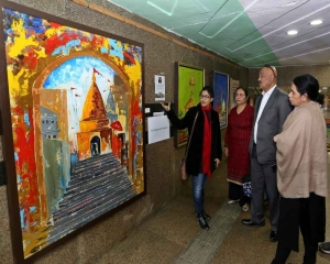 NDMC's subway accentuated with indigenous paintings