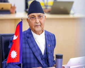 Nepal's ruling communist party's meet to decide PM's future deferred for a week over floods
