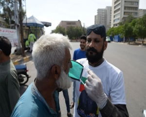 Pak reports record 4,896 infections, COVID-19 death toll reaches 1,838