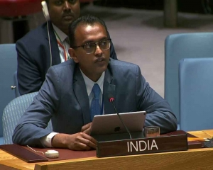 Pakistan 'spews venom', takes to hate speech like fish takes to water: India at UN
