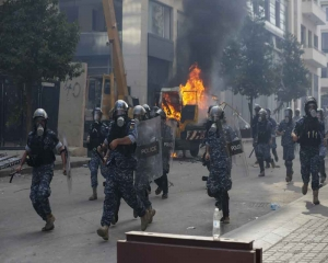 Protests in Beirut amid public fury over massive blast