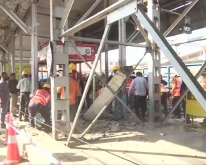 Part of ramp connecting FOB at Bhopal stn collapses; 8 injured