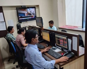 Sensex jumps over 200 pts in early trade; Nifty tests 10,750