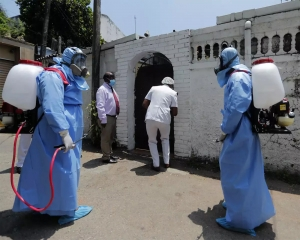 Sri Lanka increases coronavirus-curfew zones after spike in cases