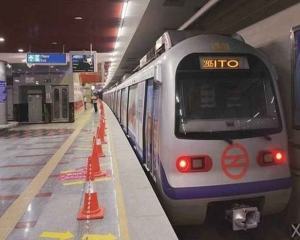 Three stations on Violet Line closed for 20 minutes